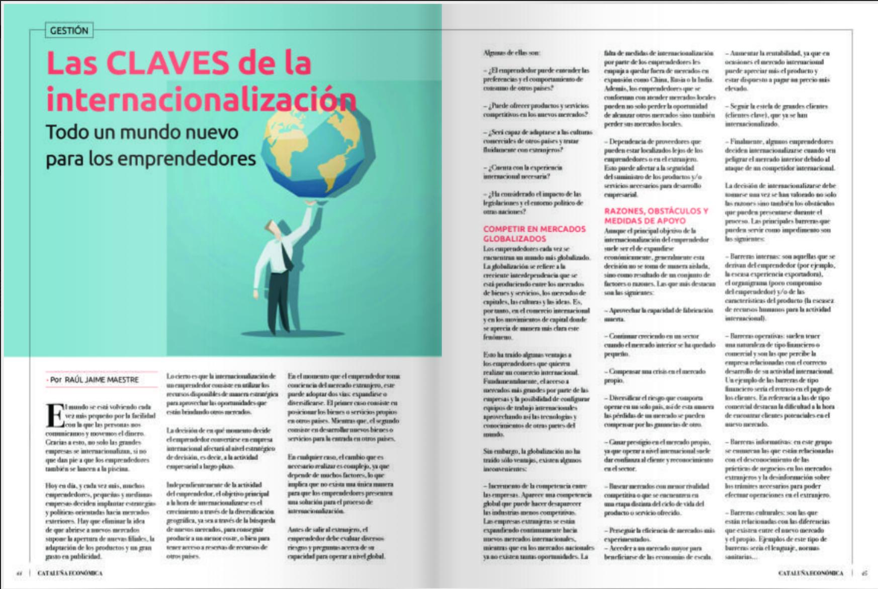 Revista Cataluña Económica 2