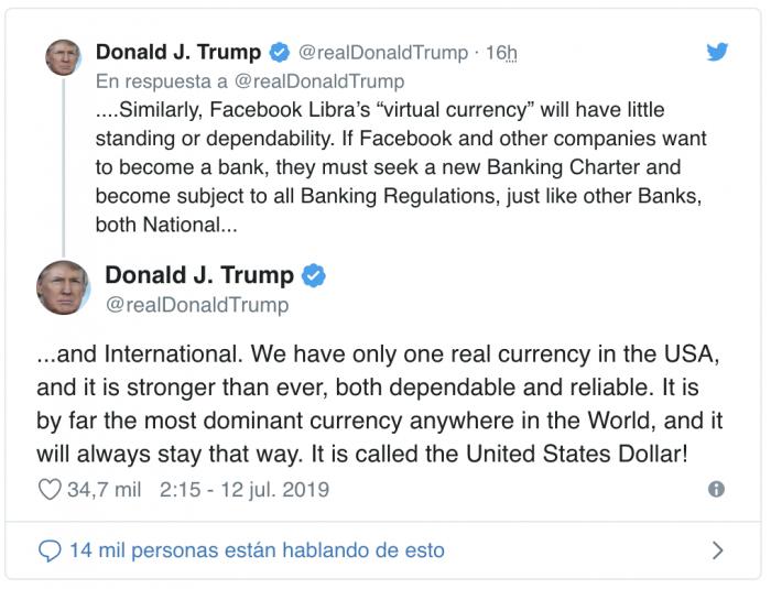 La Fed se pronuncia sobre Facebook Libra y no son buenas noticias para la red social