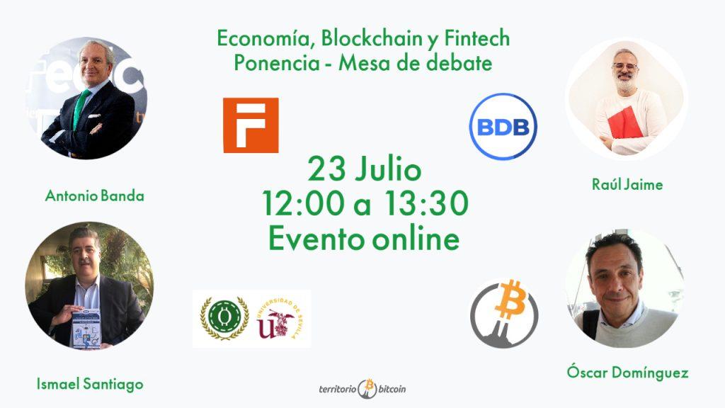 Mesa redonda_Territorio Bitcoin_Economia Blokchain Fintech