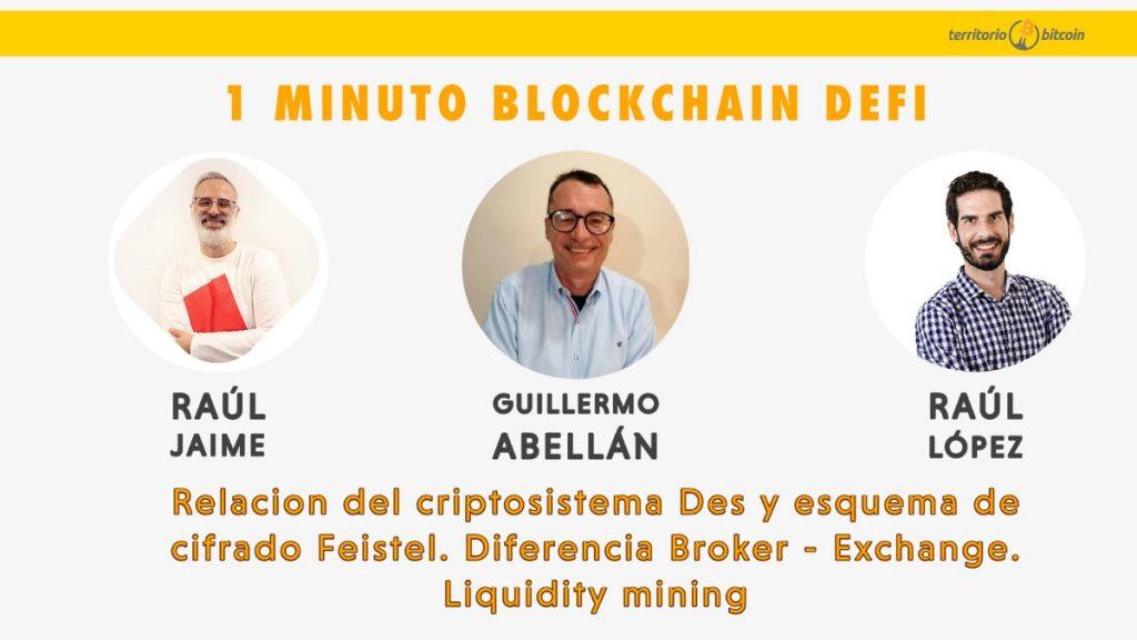 Territorio Bitcoin criptosistema DES y cifrado Feistel