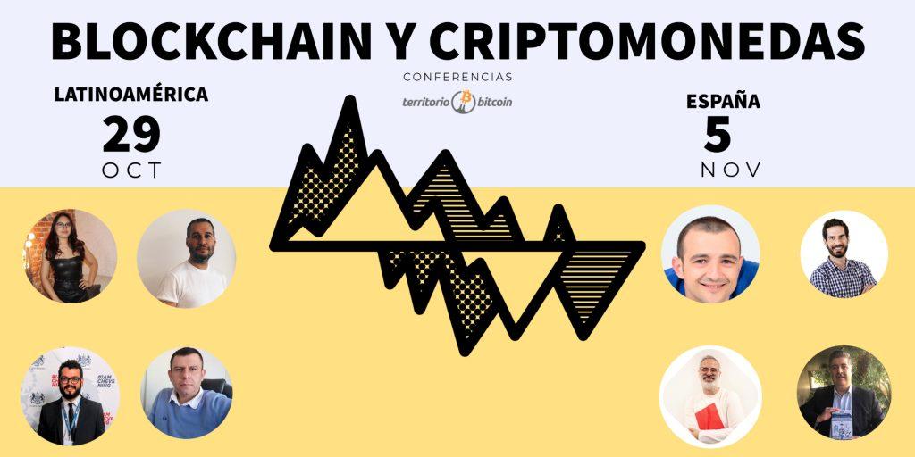 Ciclo-conferencias-Blockchain-criptomonedas-LATAM-SPAIN Territorio Bitcoin